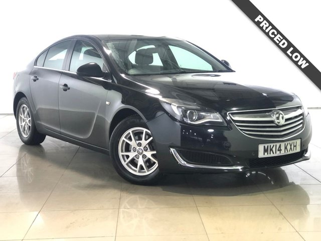 View our 2014 14 VAUXHALL INSIGNIA 2.0 DESIGN CDTI ECOFLEX S/S 5d 118 BHP