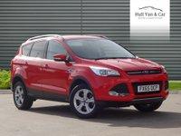 2015 FORD KUGA 1.5 ZETEC 5d AUTO 180 BHP £14995.00