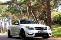 USED 2013 13 MERCEDES-BENZ C CLASS 6.2 C63 AMG 2d AUTO 457 BHP