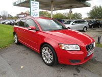 USED 2008 57 VOLVO V50 2.0 SE D 5d 135 BHP SERVICE AND CAM BELT RECENTLY