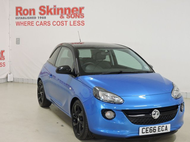 View our 2016 66 VAUXHALL ADAM 1.2 ENERGISED 3d 69 BHP