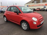 USED 2014 63 FIAT 500 1.2 POP 3d 69 BHP LOW INS * LOW MILES * GOT BAD CREDIT * WE CAN HELP *