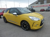 USED 2012 61 CITROEN DS3 1.6 E-HDI AIRDREAM DSPORT PLUS 3d 111 BHP BLUETOOTH * CRUISE * GOT BAD CREDIT * WE CAN HELP *