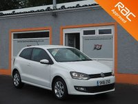 USED 2011 61 VOLKSWAGEN POLO 1.2 MATCH 3d 59 BHP 1 Owner -5 Service stamps