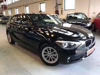 USED 2012 62 BMW 1 SERIES 1.6 114I SE 3d 101 BHP
