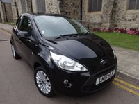 USED 2015 15 FORD KA 1.2 ZETEC 3d 69 BHP + ONE OWNER + FULL HISTORY +