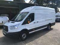 2016 FORD TRANSIT 2.2 350 Lwb high roof jumbo 125 BHP £10750.00