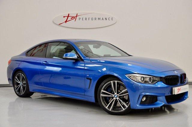 2015 15 BMW 4 SERIES 3.0 430D M SPORT 2d AUTO 255 BHP