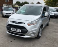 2015 FORD TRANSIT CONNECT 1.6 240 LIMITED P/V 1d 114 BHP £7500.00