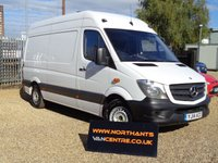 2014 MERCEDES-BENZ SPRINTER 2.1 313 CDI MWB HIGH ROOF 5d 130 BHP £12990.00