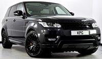 "USED 2016 66 LAND ROVER RANGE ROVER SPORT 3.0 SD V6 HSE Dynamic 4X4 (s/s) 5dr Pan Roof, Stealth Pack, 21""s +"
