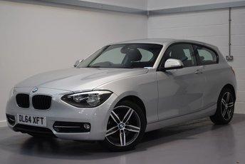 2014 BMW 1 SERIES 1.6 116I SPORT 3d 135 BHP £9290.00