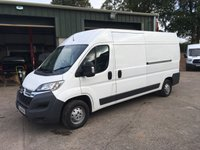 2016 CITROEN RELAY 2.2 35 L3H2 ENTERPRISE HDI 1d 130 BHP £10250.00