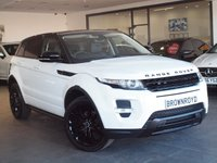USED 2011 61 LAND ROVER RANGE ROVER EVOQUE 2.2 SD4 DYNAMIC LUX 5d 190 BHP PAN ROOF+SAT NAV+R-CAM+FSH
