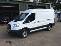 2015 FORD TRANSIT 2.2 350 L2H2 mwb mr 155 BHP £9850.00