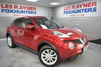 USED 2015 15 NISSAN JUKE 1.5 TEKNA DCI 5d 110 BHP Privacy Glass, Sat Nav, Cruise control, DAB Radio, climate control