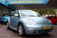 USED 2004 02 VOLKSWAGEN BEETLE 1.9 CABRIOLET TDi JUST 1 PRIVATE OWNER FROM NEW