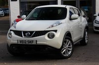USED 2012 12 NISSAN JUKE 1.5 TEKNA DCI 5d 110 BHP FULL HEATED LEATHER ** SAT-NAV ** REVERSE CAMERA ** BLUETOOTH ** FSH **