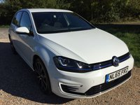 USED 2015 65 VOLKSWAGEN GOLF 1.4 GTE 5d AUTO 150 BHP Hybrid, Bluetooth Audio, F/S/H