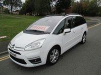 2013 CITROEN C4 GRAND PICASSO 1.6 PLATINUM EGS E-HDI 5d AUTO 110 BHP £7499.00