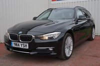 2014 BMW 3 SERIES 2.0 320D LUXURY TOURING 5d 181 BHP £12795.00