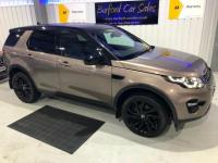 "USED 2015 65 LAND ROVER DISCOVERY SPORT 2.0 TD4 HSE BLACK 5d AUTO 180 BHP PANO ROOF! NAV! 20"" ALLOYS!"