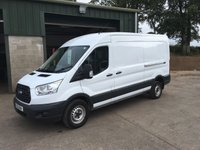 2016 FORD TRANSIT 2.2 350 L3H2 Lwb mr 125 BHP £12750.00