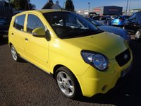 USED 2009 09 KIA PICANTO 1.1 3 5d 65 BHP **1 Owner Low Mileage Great Spec July 2019 Mot**