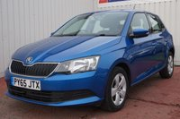 USED 2016 65 SKODA FABIA 1.0 SE MPI 5d 74 BHP £20 PER YEAR ROAD TAX