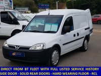 2008 VAUXHALL COMBO 2000 1.3 CDTi Direct From BT With History £2495.00