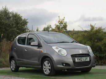 2012 SUZUKI ALTO 1.0 SZ4 5d AUTO 68 BHP £5290.00