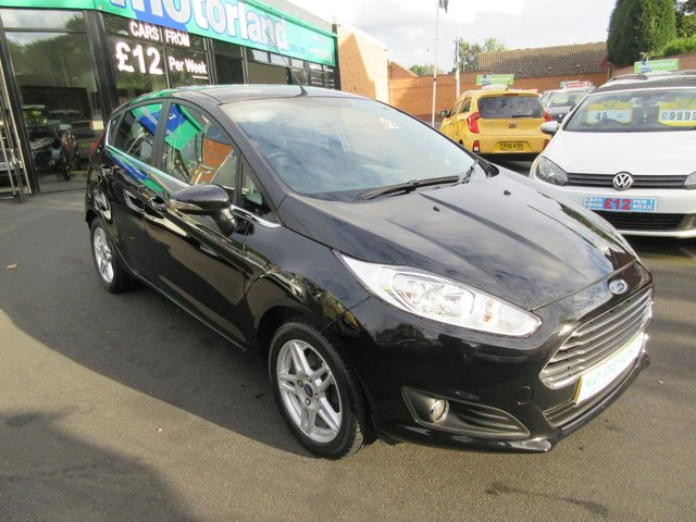 USED 2013 63 FORD FIESTA 1.2 ZETEC 5d 81 BHP CALL 01543 379066... 12 MONTHS MOT... 6 MONTHS WARRANTY... JUST ARRIVED