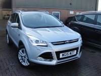 USED 2015 15 FORD KUGA 2.0 TITANIUM X TDCI 5d AUTO 160 BHP ANY PART EXCHANGE WELCOME, COUNTRY WIDE DELIVERY ARRANGED, HUGE SPEC