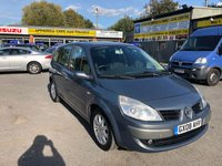 2008 RENAULT GRAND SCENIC 1.9 DYNAMIQUE DCI 5d 130 BHP IN METALLIC GREY WITH 7 SEATS AND ONLY 76000 MILES £2299.00