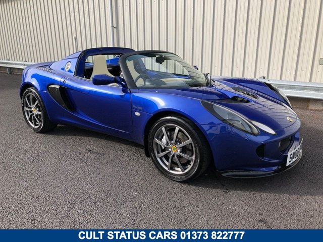 2006 06 LOTUS ELISE 1.8 111R 16V TOURING SUPERCHARGED