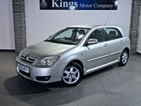 2006 TOYOTA COROLLA 1.4 VVT-i Colour Collection 5dr £2390.00