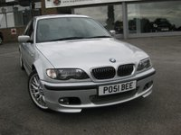 2001 BMW 3 SERIES 3.0 330I SPORT 4d AUTO 228 BHP £SOLD