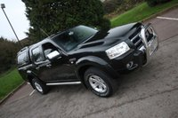 2008 FORD RANGER 2.5 THUNDER 4X4 DOUBLE CAB 141 BHP + HARDTOP £7000.00