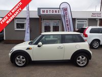 USED 2008 08 MINI HATCH ONE 1.4 ONE 3DR HATCHBACK 95 BHP ++++OCTOBER SALE NOW ON+++