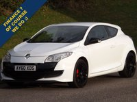 USED 2010 60 RENAULT MEGANE 2.0 RENAULTSPORT CUP 3d 247 BHP RS Cup , White , Cruise , Parking Sensors , 6 Month Warranty