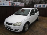 USED 2004 54 VAUXHALL CORSA 1.2 DESIGN CDTI 16V 5d 70 BHP FINANCE AVAILABLE FROM £16 PER WEEK OVER TWO YEARS - SEE FINANCE LINK