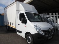 2016 RENAULT TRUCKS MASTER LWB 2.3 DCi 13 FT CURTAINSIDE *AIR CON* £14995.00