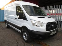 2015 FORD TRANSIT 350 L3 H2 LWB medium roof 125 PS RWD *ONLY 46000 MILES* £11995.00