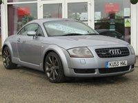2003 AUDI TT 1.8 QUATTRO 3d 221 BHP £2700.00