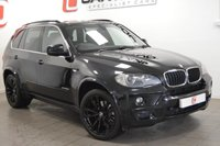 USED 2009 09 BMW X5 3.0 XDRIVE30D M SPORT 5d AUTO 232 BHP LOW MILES + 20 INCH ALLOYS + BLACK LEATHER + PRIVACY GLASS