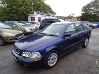 2002 VOLVO S40 1.8 S 4d 122 BHP £995.00