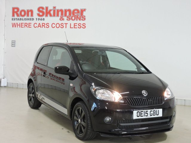 View our 2015 15 SKODA CITIGO 1.0 MONTE CARLO MPI 3d 59 BHP