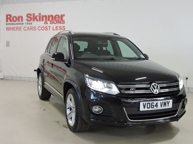 View our 2014 64 VOLKSWAGEN TIGUAN (54) 2.0 R LINE TDI BLUEMOTION TECHNOLOGY 4MOTION 5d 139 BHP