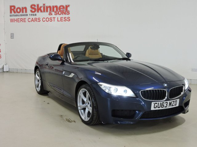 View our 2013 63 BMW Z4 2.0 Z4 SDRIVE18I M SPORT ROADSTER 2d 155 BHP
