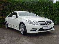 """USED 2012 62 MERCEDES-BENZ E CLASS 2.1 E250 CDI BLUEEFFICIENCY S/S SPORT 2d AUTO 204 BHP Genuine Low Mileage, Full Leather Trim, Heated Front Seats, AMG 18"""" Alloy Wheels, Bluetooth, Front + Rear Parking Sensors, Xenon Day Lights, Climate Control, Cruise Control, Spare Key, Drive Away In Under 1 Hour"""